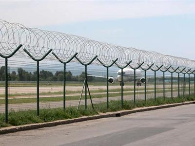 上海机场护栏