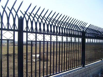 上海公园锌钢护栏