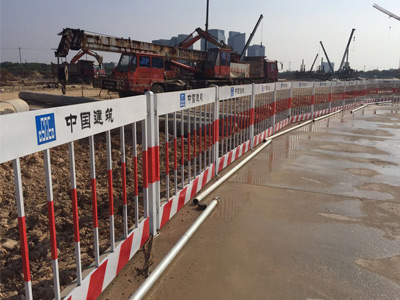上海基坑防护栏杆